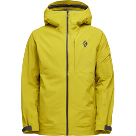 Black Diamond Recon Stretch Ski Shell Jacke Herren sulphur